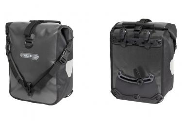 Orlieb Pair of Luggage Rack Sport-Roller Classic 25L Asphalt / Black