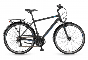 Winora Domingo 21 City Bike 700mm Noir / Bleu