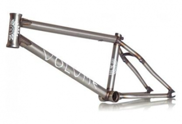 Volume BMX Freestyle Frame Venture Mat Raw