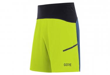 Short GORE® R7 Jaune Bleu