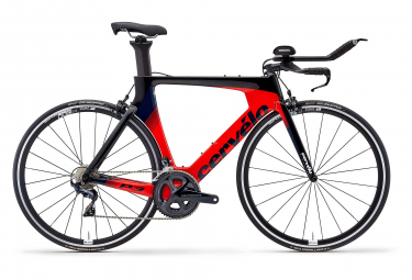 Cervélo P3 Rim Triathlon Bike Shimano Ultegra 8000 11S Black Red Navy 2019