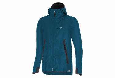 GORE® H5 Women GORE-TEX ShakeDry Hooded Thermal Jacket Blue