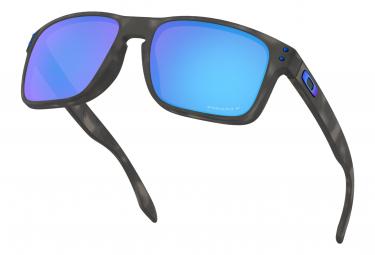 Lunettes Oakley Holbrook Noir / Prizm Sapphire / Ref. OO9102-G755