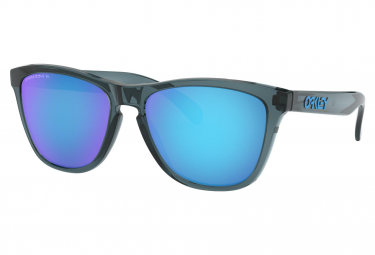 Lunettes Oakley Frogskins Prizm Sapphire Polarized / Crystal Black / OO9013-F655