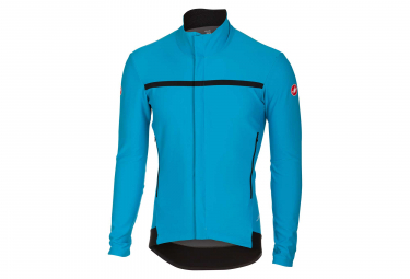 Castelli Perfetto Team Sky 2018 Windbreaker Jacket Sky Blue Black