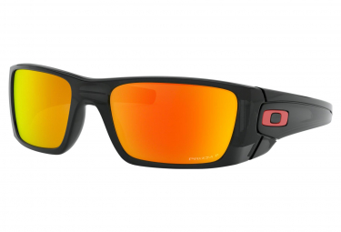 Gafas Oakley Fuel Cell black red Prizm Ruby