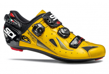 Sidi Ergo 4 Road Shoes - Yellow Black