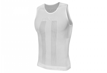 Spiuk Profit Sleeveless Baselayer White