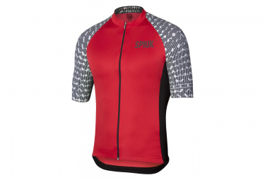 Spiuk Top Ten Short Sleeves Jersey Red