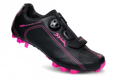 Spiuk Altube M Women MTB Shoes Black Fuchsia