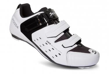 Paire de Chaussures Route Spiuk Rodda Blanc Noir