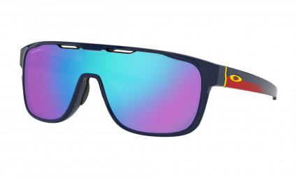 Oakley Sunglasses Crossrange Shield Snapback Collection Navy / Prizm Sapphire / Ref. OO9387-1031