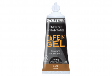 OVERSTIMS Energy Gel CAFEIN'GEL Coffee