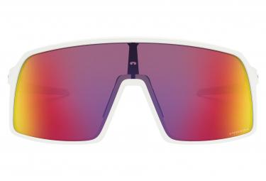 Oakley Sutro Sunglasses / Matte White / Prizm Road / Ref. OO9406-0637