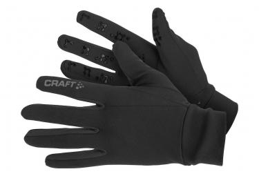 Paire de Gants Running Craft Thermal Multi Grip Noir