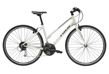 Trek 2019 FX 3 Women Hybrid Bike Shimano 9S White