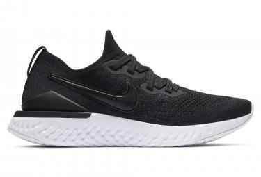Zapatillas Nike Epic React Flyknit 2 para Mujer Negro / Blanco