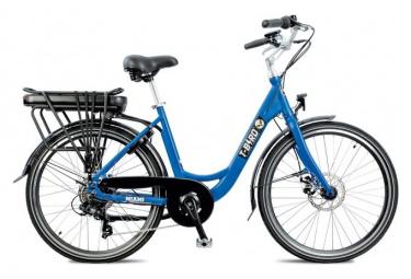 Vélo de Ville Électrique T-Bird T-Bird Panaché 7V 500 Bleu 2019