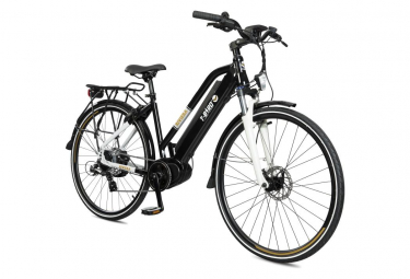 Vélo de Ville Électrique T-Bird Riviera  Shimano Altus 8V Noir