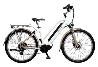 T bird electric city bike palm beach shimano altus 8s blanco 2019