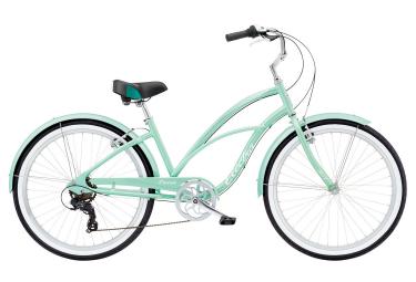 ELECTRA Woman City Bike Cruiser Lux 7D Green