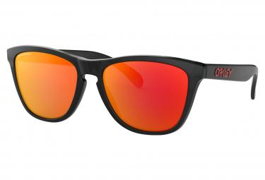 Gafas De Sol Oakley Frogskins   Tinta Negra   Prizm Ruby   Ref  Oo9013 C955