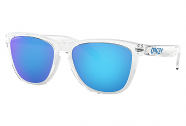 Lunettes Oakley Frogskins / Crystal Clear / Prizm Sapphire / Ref. OO9013-D055