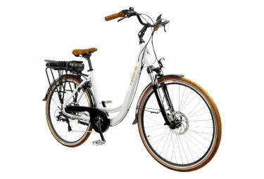 Vélo de Ville Électrique T-Bird Bora Bora Panaché 7V 500 Blanc 2019