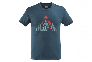 Eiderentier-T-Shirt Sturm-Blau