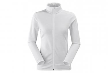 Veste Polaire technique Femme Eider Stream Fleece Blanc