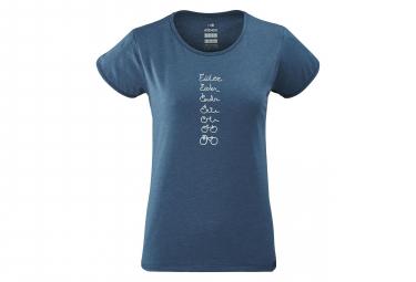 T-Shirt Femme Eider Odaiba Storm Bleu