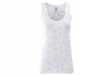 Image of Debardeur femme eider flex jacquard blanc s