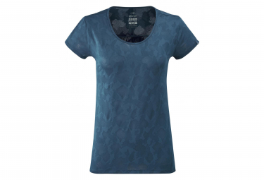 Eider Flex Jacquard camiseta mujer azul tormenta