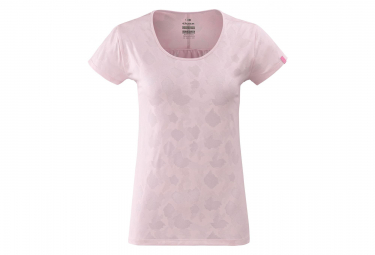 T-Shirt Femme Eider Flex Jacquard Rose