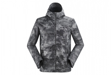 Eider Brockwell Jacquard Jacket Black Camo