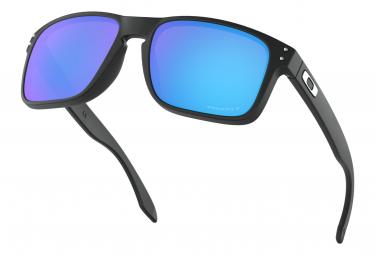 Lunettes Oakley Holbrook Matte Black / Prizm Sapphire Polarized / Ref. OO9102-F055