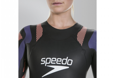 Combinaison Néoprène Femme Speedo Fastskin Proton Noir Rouge