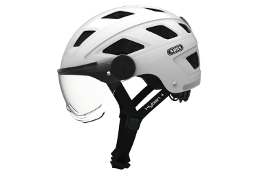 Abus Hyban+ Helmet White With Clear Visor