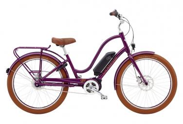 Electra Townie Go! 8i Woman City E-Bike Shimano Nexus 8s Purple