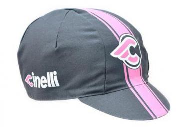Cinelli Cap Vigorosa Grigio Grey / Pink