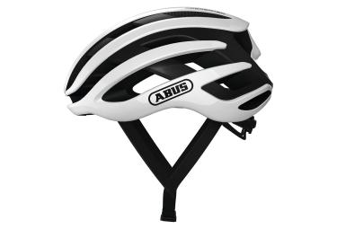 Abus AirBreaker Road Helm Weiß