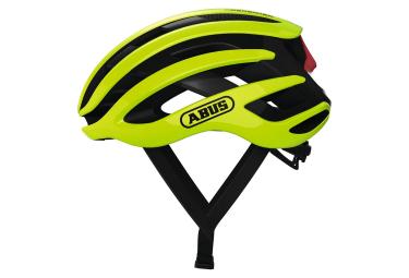 Abus AirBreaker Road Helm Neongelb