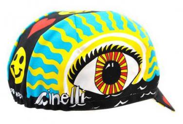 Casquette Cinelli Eye OF The Storm Nero / Multi
