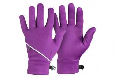 Gants Longs Femme Bontrager Vella Thermal Mauve Lotus