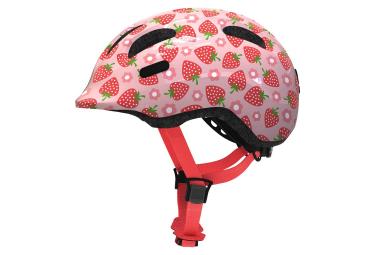 Abus Smiley 2.1 Kid Helmet Rose Strawberry