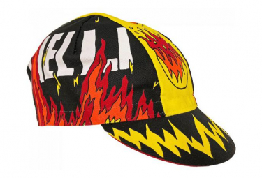 Cinelli Cap Fire Ana / Red / Yellow