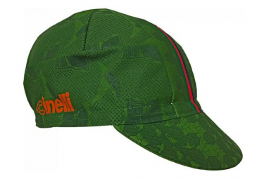 Casquette Cinelli Hobo Vert / Orange