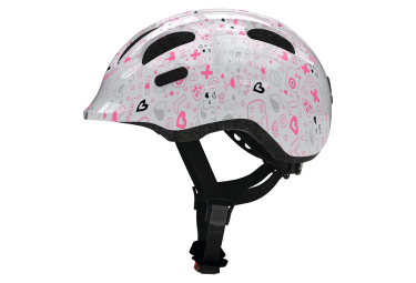 Casco Abus Smiley 2.1 Blanc / Rose