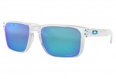 Oakley Holbrook XL / Polished Clear / Prizm Sapphire Polarized / Ref. OO9417-0759