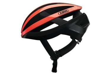 Abus Viantor Helmet Shrimp Orange Black